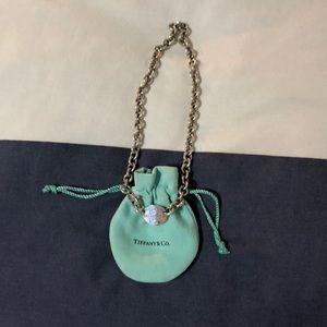 Tiffany & Co. return to Tiffany tag choker
